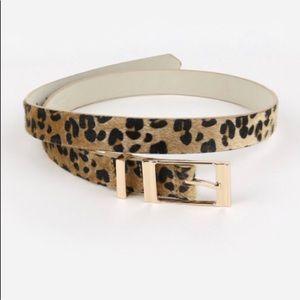 Accessories - Leopard Belt